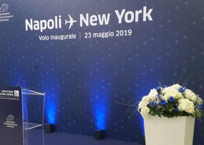 NAPOLI > NEW YORK 23 maggio 2019