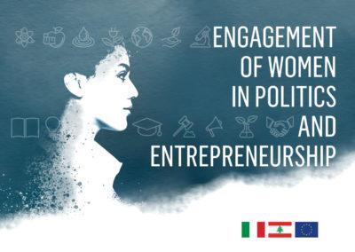 ENGAGEMENT OF WOMEN IN POLITICS AND ENTREPRENEURSHIP